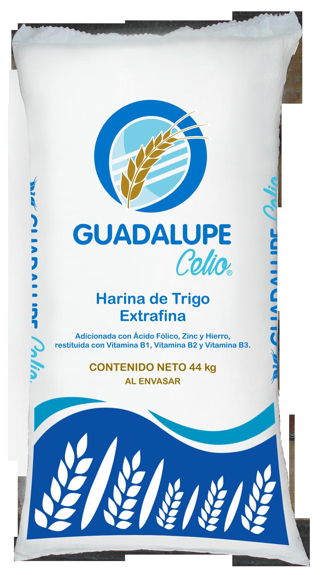 Presentaciones de Harina de Trigo Guadalupe Celio